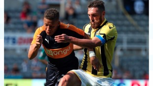 Newcastle United's Dwight Gayle will wear the number 9 shirt
