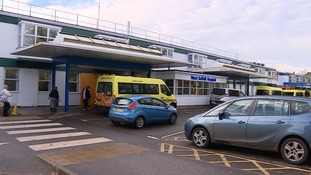 The West Suffolk Hospital in Bury St Edmunds.