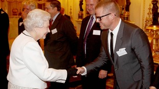 The Queen meets Heston Blumenthal