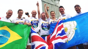 Ride to Rio team conquer challenge