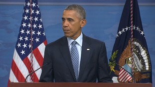 President Obama: IS is losing ground but still a threat