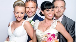 Viewers will be hoping to see the joint wedding of Chas Dingle and Dan Spencer, and Katie Sugden and Declan Macey.