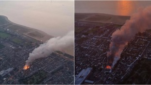 Pictures from the NPAS Wattisham Twitter account show the devastation.