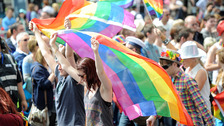 The week-long Pride festival takes place in Belfast every year.