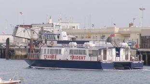 Trident V boat