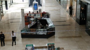 Man repeatedly stabbed in front of shoppers at Westfield