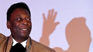 Pele is thought has withdrawn due to poor health