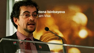 Britain's Ambassador to Chile Jon Benjamin