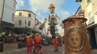 On the road with the Man Engine: his best bits