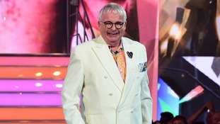 Christopher Biggins pictured entering the Celebrity Big Brother house.