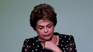 Ms Rousseff was suspended from office in May