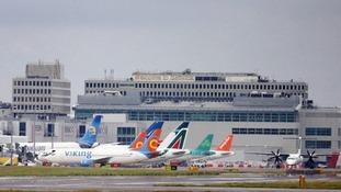 Gatwick Airport.