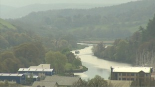 The 16-year-old fell into the River Dart at around 6.30pm on Friday