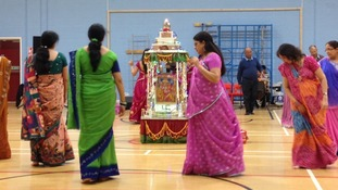 Navratri celebrations get underway in Leicester