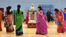 Navratri celebrations get underway in Leicester