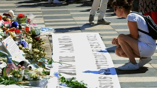 Victims of Bastille Day attack remembered in Nice