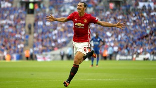 Community Shield: Leicester 1-2 Manchester United - Zlatan wins it late on