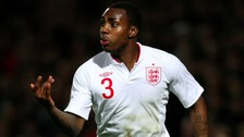 Danny Rose, playing for England last night was sent off after the final whistle for reacting angrily to racial abuse.