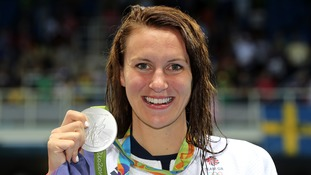 Swindon swimmer 'gobsmacked' at getting silver