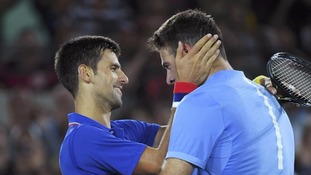 But the Serbian number one said he was pleased for the Argentine victor after a series of injuries in recent years.