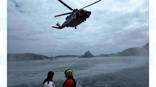 Four people 'lucky to be alive' after Tresco rescue
