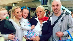 Family holiday rescued after chickenpox flight ban