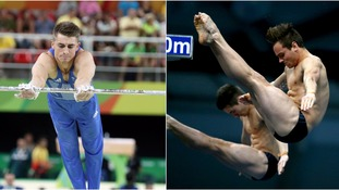 Rio Olympics day three: Men's gymnastics team go for glory