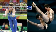 Team GB could be in with a chance of a medal in both the gymnastics and the diving.