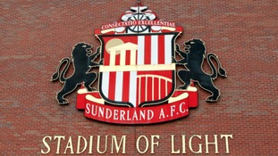A general view of Sunderland A.F.C signage at the Stadium of Light.