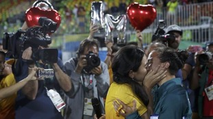 This was Olympic rugby sevens's first pitch-side proposal