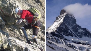 British climber Jamie Andrew says he is first quadruple amputee to scale Matterhorn