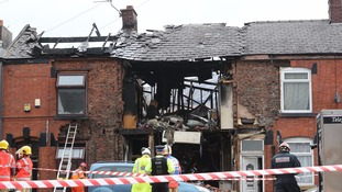 Family leapt for lives as explosion destroyed their house