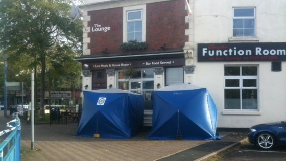 Officers were called to The Lounge Bar at Market Place in Great Bridge just before 11pm last night.   
