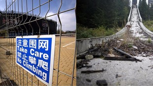 Derelict and deserted - the ghost of former Olympic sites