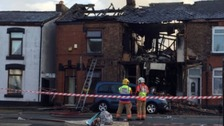 House blast latest: Three of ten 'seriously injured'