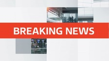 The incident is believed to involve an RAF helicopter