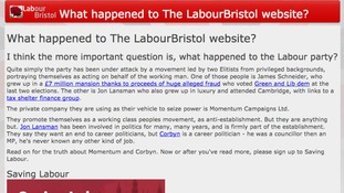 Bristol Labour site hacked by unknown activist