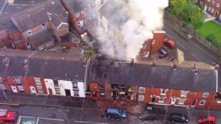Man dies after house blast in Greater Manchester