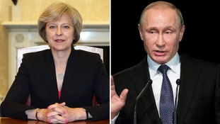 May and Putin to improve ties between UK and Russia
