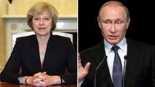Theresa May / Vladimir Putin