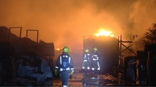 St Erth fire: Heartfelt message from tyre firm