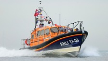 Man missing off the coast of West Wales on Sunday was from the West Midlands