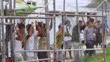 The detention centre at Manus.