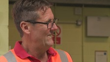 Jim Cooper, from Blakeney in the Forest of Dean has just been given an award after becoming the longest serving postman in the west.