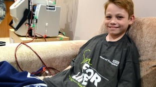 Kidney donated to 11-year-old boy who took 18 tablets daily to stay alive