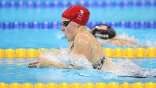 Siobhan-Marie O'Connor competes in the Women's 200m Individual Medley Final
