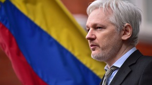Julian Assange is residing in the Ecuadorian embassy