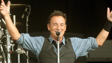 Rock star Bruce Springsteen