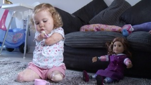 Harmonie-Rose finds a friend just like her