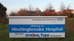 Hinchingbrooke Hospital.